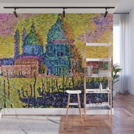 Classical Masterpiece 'The Grand Canal, Venice, Italy' by Paul Signac Wall Mural