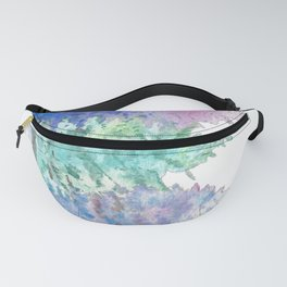 Christmas trees - Winter landscape Fanny Pack