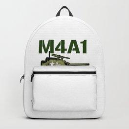 M4A1 SHERMAN Tank Military US 2 World War Tanks Backpack
