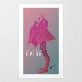 The Avian Art Print