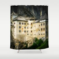 castle Shower Curtains featuring Castle by DistinctyDesign