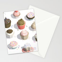 I Like Cupcakes Stationery Cards