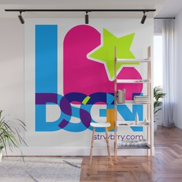 Strwbrry Dsgn Wall Mural