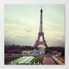 Summer in Paris Canvas Print