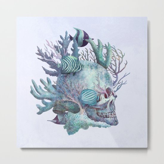 Full Fathom Five - colour option Metal Print