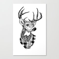 Mr Deer Canvas Print