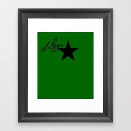 """Signed Blaze"" by One Trick Pony Framed Art Print"