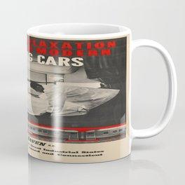 Vintage poster - New Haven Railroad Coffee Mug