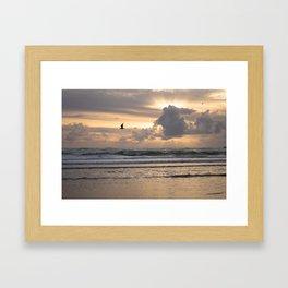 Heavens Rejoice - Ocean Photography Framed Art Print