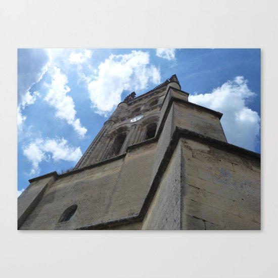 Saint Emilion spire Canvas Print
