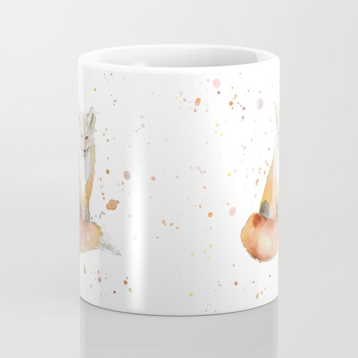 The Wise Fox Coffee Mug