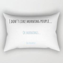 Funny quote Rectangular Pillow