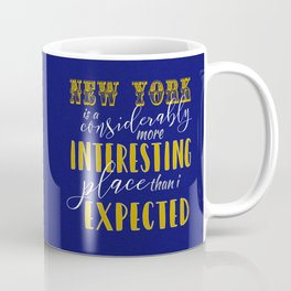 New York - Fantastic Beasts Coffee Mug