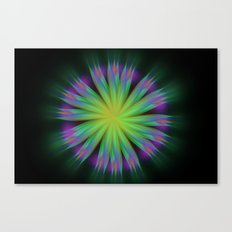 Sonic Bloom Canvas Print