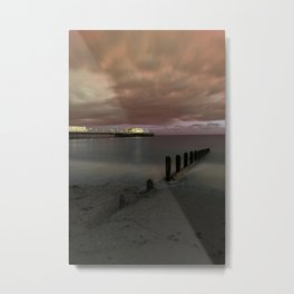 Worthing Pier Portrait Metal Print