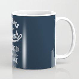 Courage - Motivation Coffee Mug