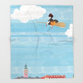 Kiki's Delivery Service Throw Blanket