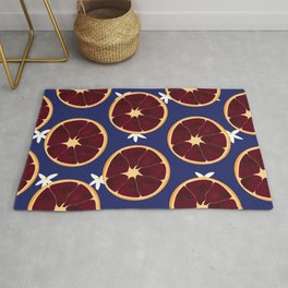 Blood Orange Pattern Rug