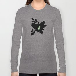New Hampshire - State Papercut Print Long Sleeve T-shirt