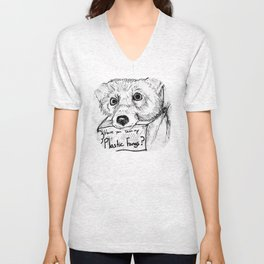 Plastic Fangs Collective Unisex V-Neck