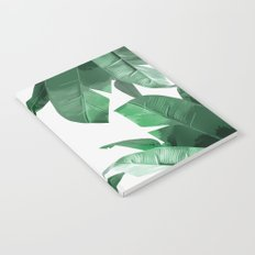 Tropical Palm Print Notebook