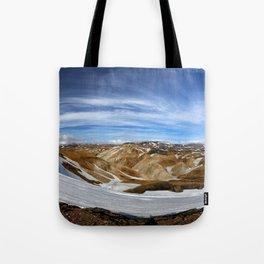 Landmannalaugar, Iceland Tote Bag