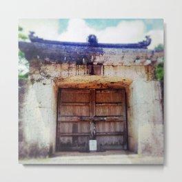 Shuri Castle Metal Print