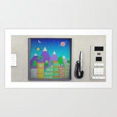 CompuSpace B Art Print