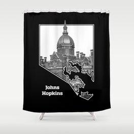 Johns Hopkins Shower Curtain