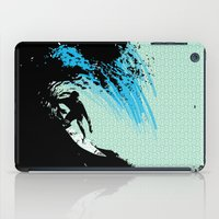 surfing iPad Cases featuring Surfing by CSNSArt