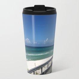 White Caps Travel Mug