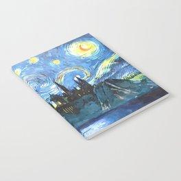 Starry Night in Hogwarts Castle - HP Notebook