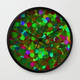 Diferrent points Wall Clock