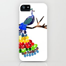 pavo real iPhone Case