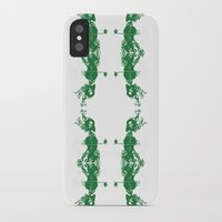 cello iPhone & iPod Cases featuring Cello and flowers by Design4u Studio