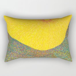 Here Comes the Sun - Van Gogh impressionist abstract Rectangular Pillow
