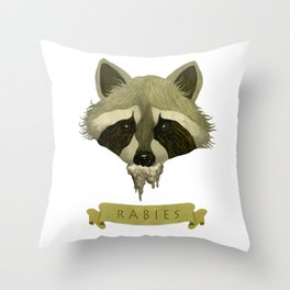 Zoonosis Throw Pillow