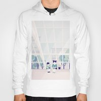 home sweet home Hoodies featuring Home sweet home by Salome Gautier