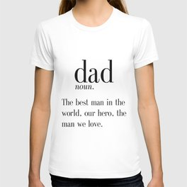 Dad Definition Print, Father's Day Gift, Funny Dad Gift, Wall Art, Digital Print, Instant Download, T-shirt