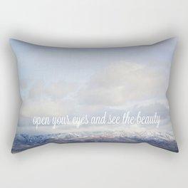 Open Your Eyes  Rectangular Pillow