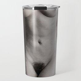 Naked  Woman Watercolor Travel Mug