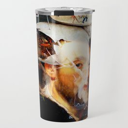 Bosch and Rubens Sandwich with a Peep of Magritte Travel Mug