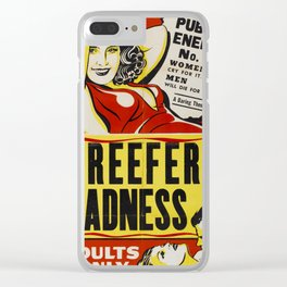 Reefer Madness Clear iPhone Case