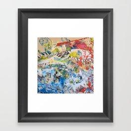 Lion/ Guernica Framed Art Print