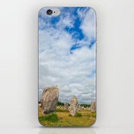 Carnac Stones iPhone Skin