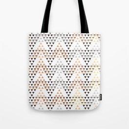 Pyramids pattern Tote Bag