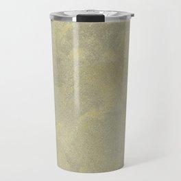 Modern Masters Metallic Plaster - Aged Gold and Silver Fox - Custom Glam Travel Mug