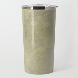 Modern Masters Metallic Plaster - Aged Gold and Silver Fox - Custom Glam Travel Mug