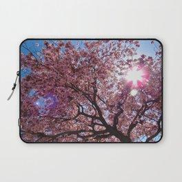 Pink Cherry Blossom Tree 1 Laptop Sleeve