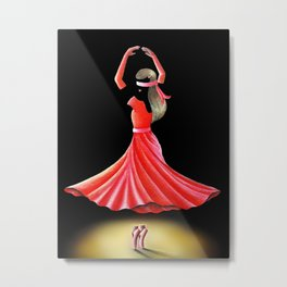 DISSOLVE YOURSELF INTO DANCE Metal Print